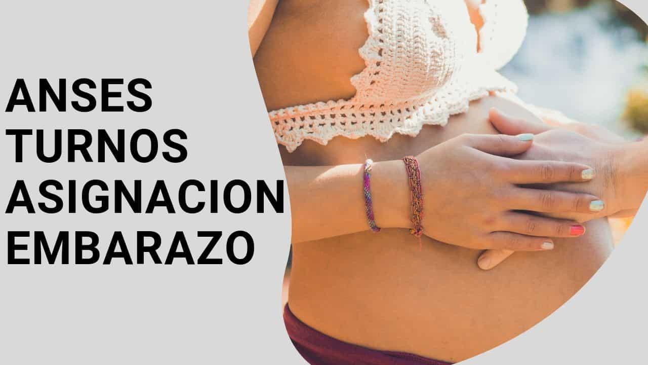 como pedir turno para cobrar asignacion por embarazo