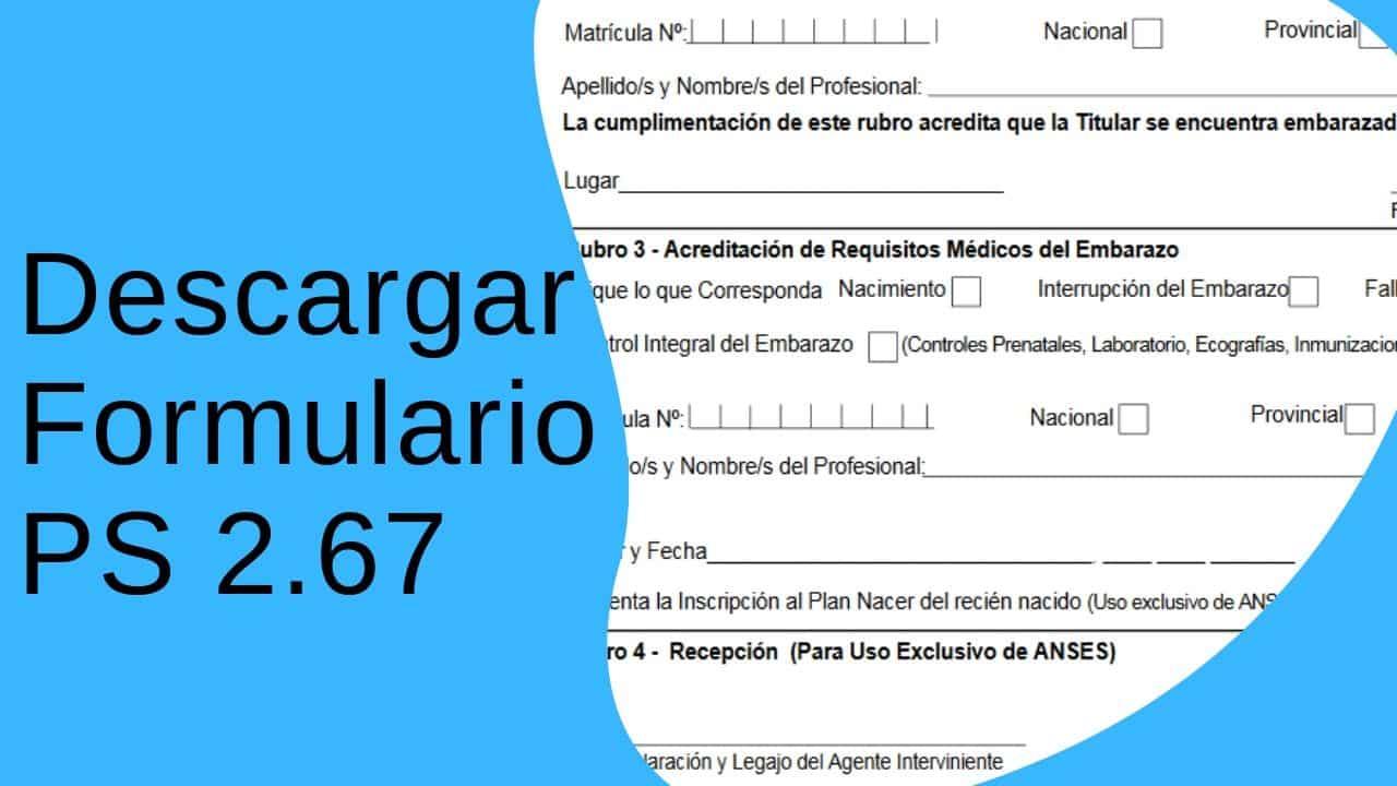 descargar el formulario-ps-2-67