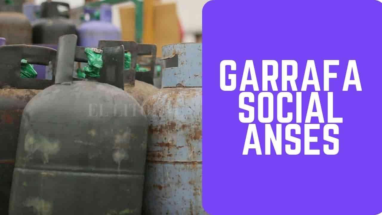 inscribirse en garrafa social desde mi anses online