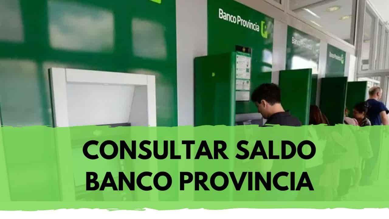 consultar saldo de tu tarjeta banco provincia