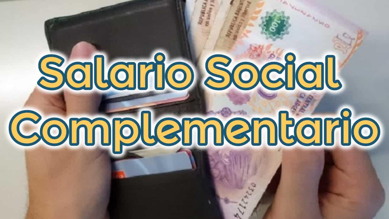 Salario Social Complementario inscripcion
