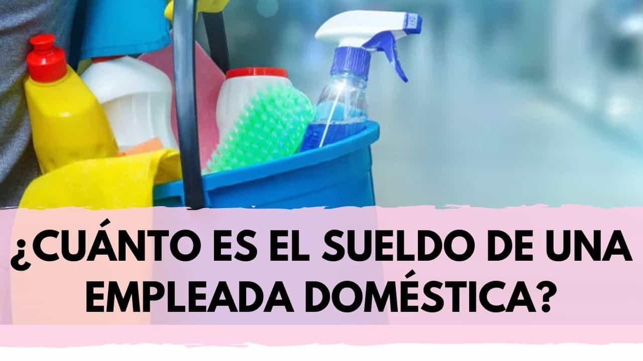 escala salarial servicio domestico