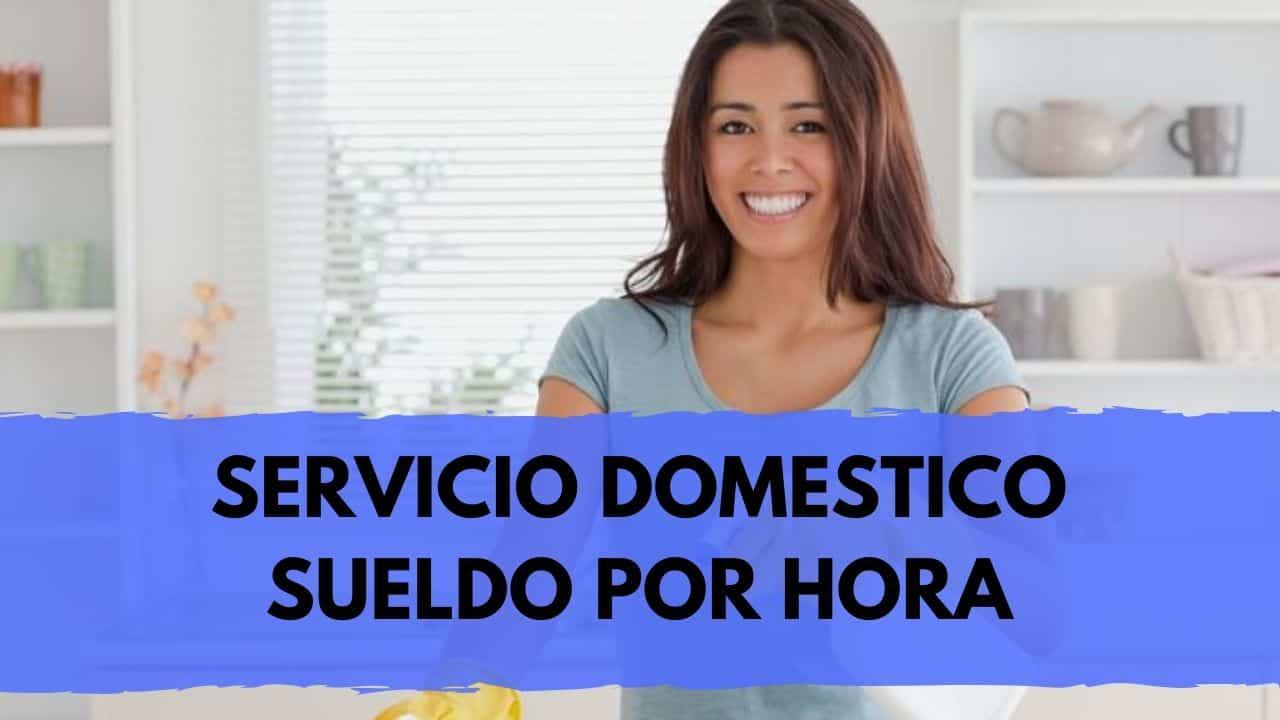 sueldo por hora de empleada domestica