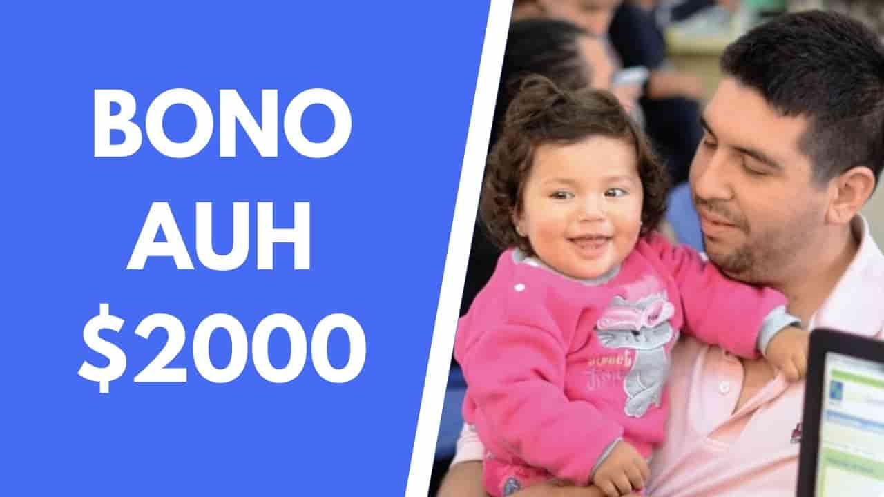 fecha de cobro del bono de 2000 asignacion por hijo