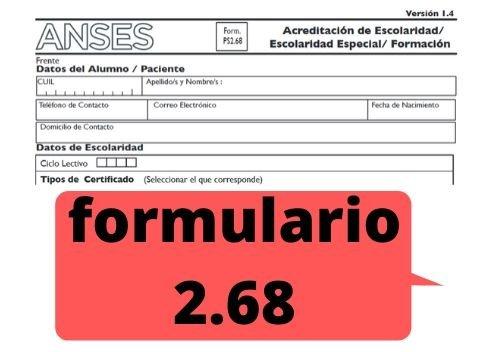 subir el formulario ps 2.68