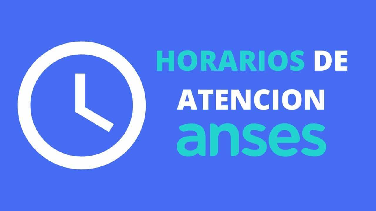 horarios de atencion de ANSES