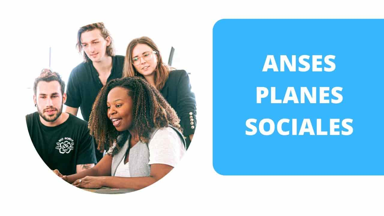 anotarse en planes sociales de anses