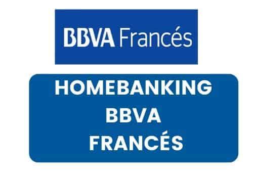 hacer Homebanking BBVA Francés