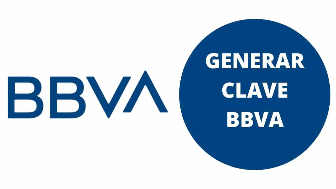 Generar Clave BBVA