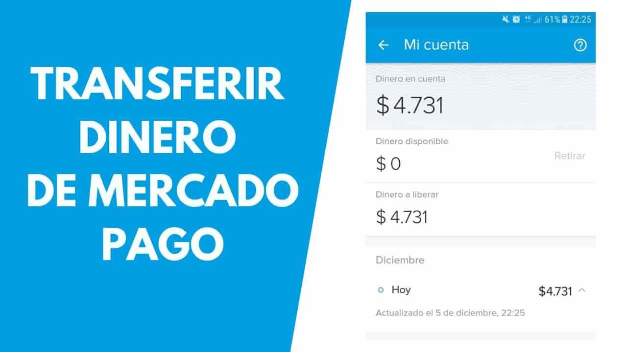 Transferir Dinero de Mercadopago a cbu de cuenta en pesos
