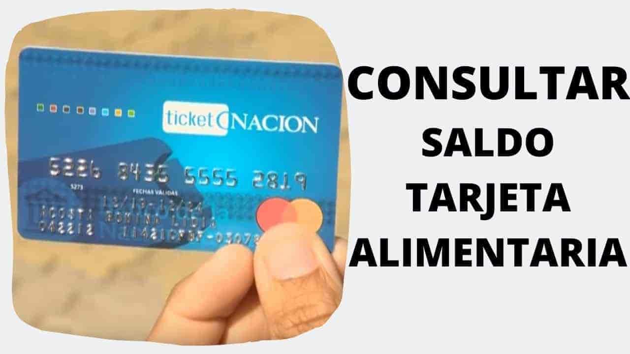 banco nacion tarjeta alimentaria