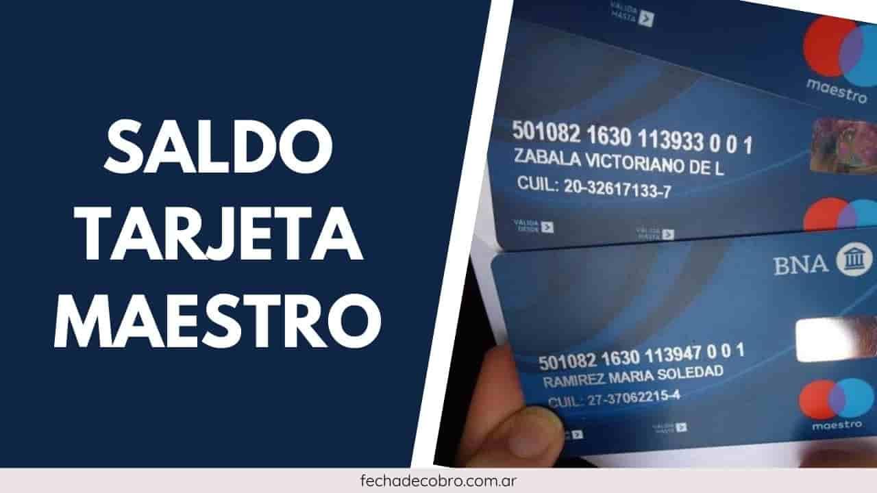 banco nacion consulta saldo tarjeta maestro
