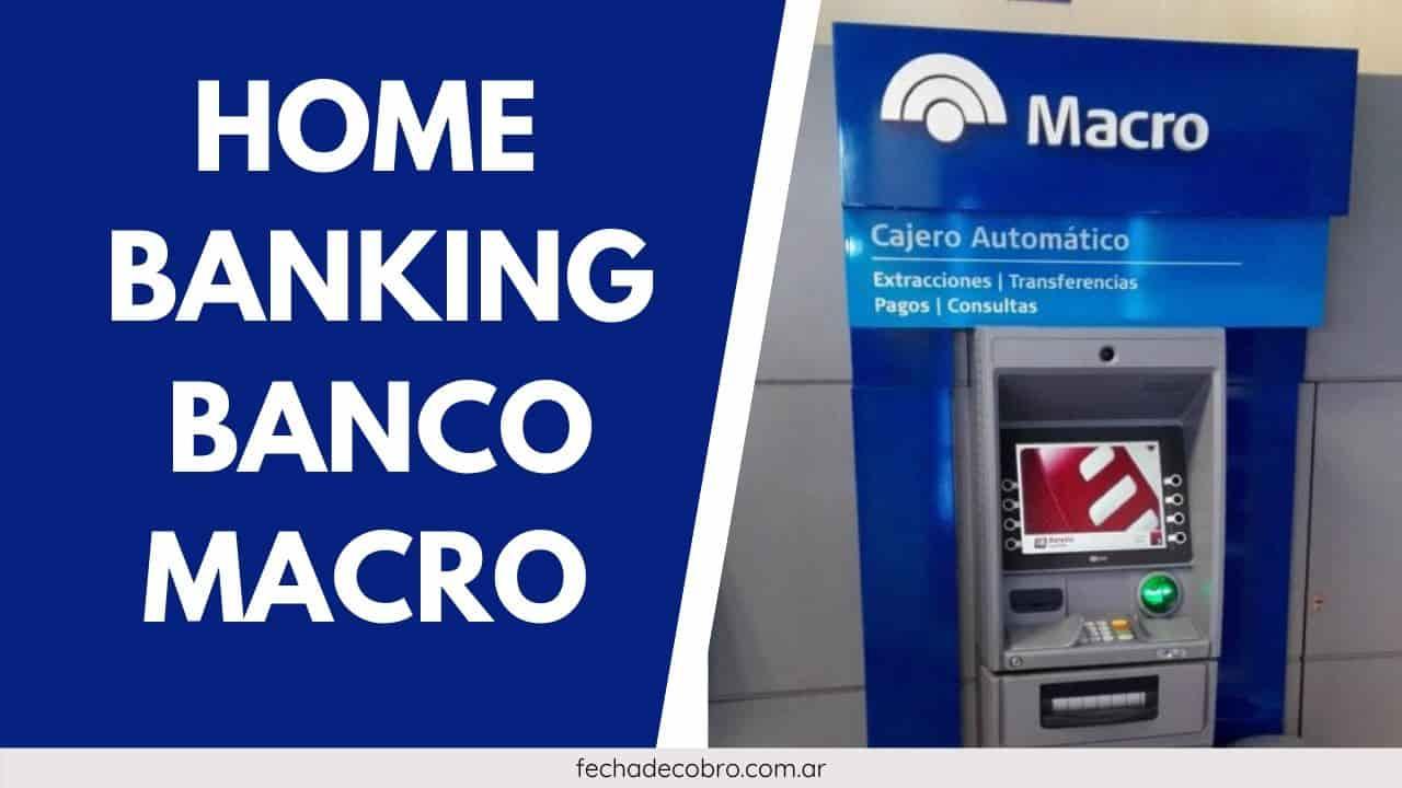 ingresar al Home Banking de Banco Macro