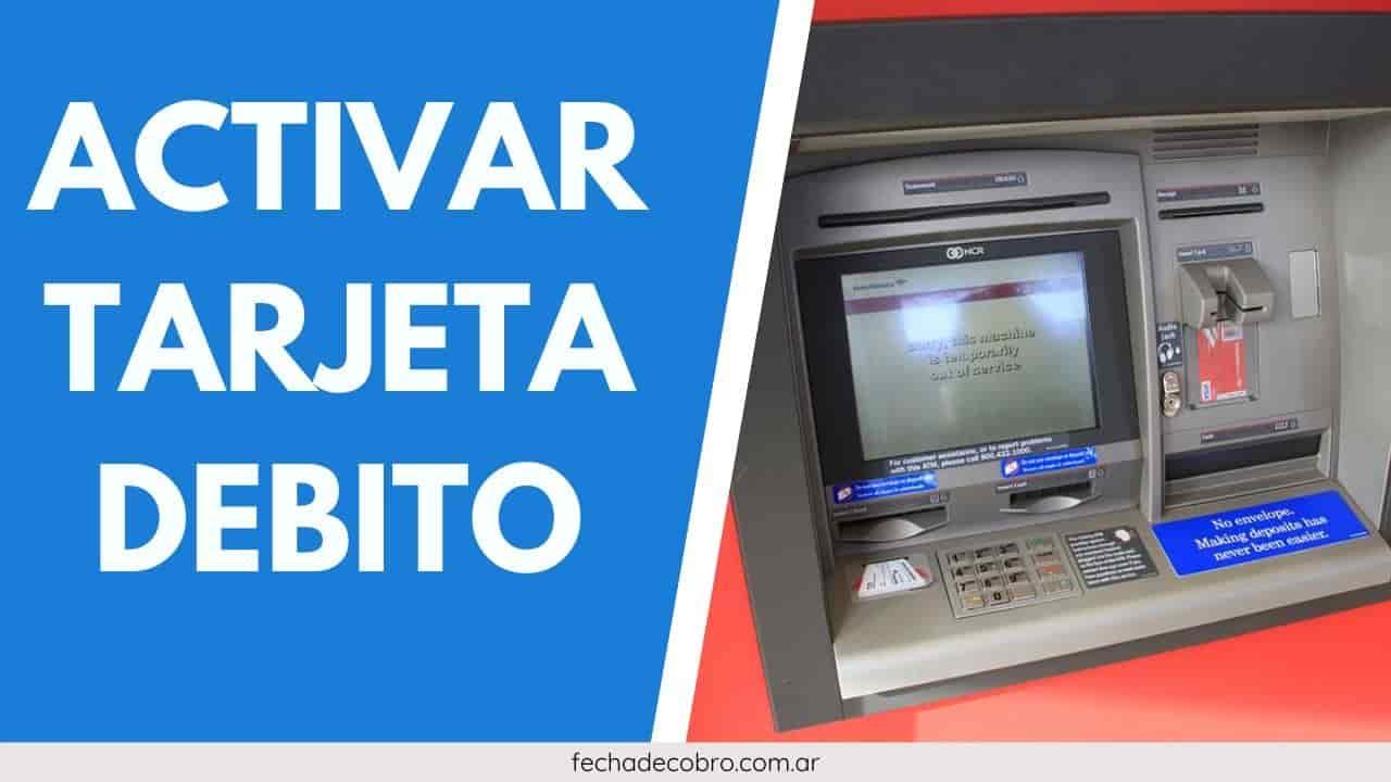 activar la tarjeta debito visa