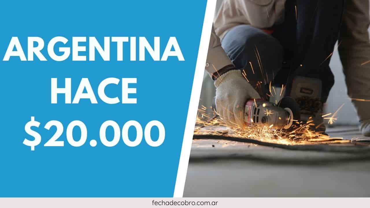 sueldo de argentina hace