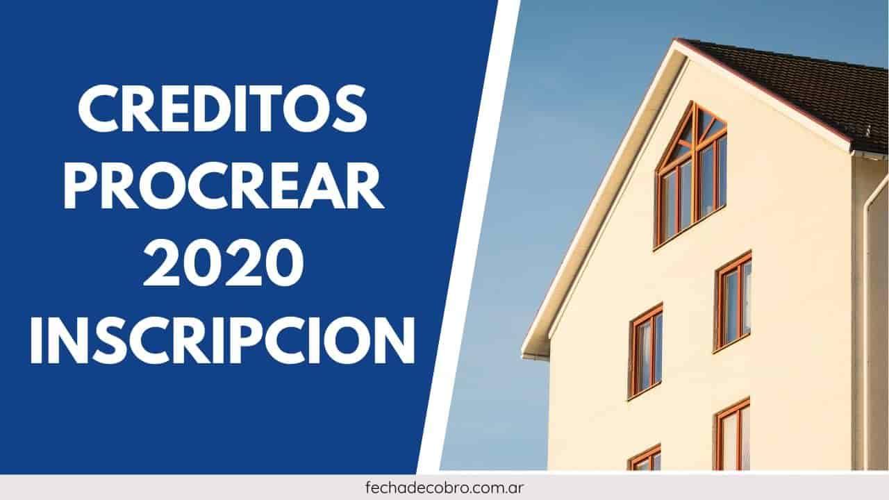 Plan Procrear 2020 ANSES