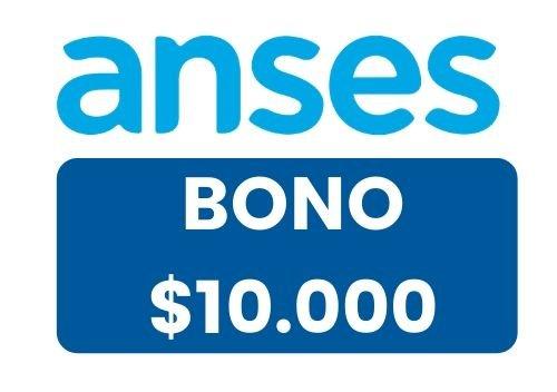 formulario bono de 10000 anses