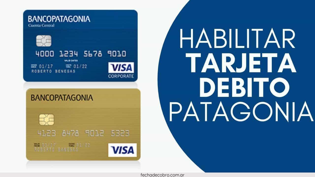 arjeta de Debito del Banco Patagonia