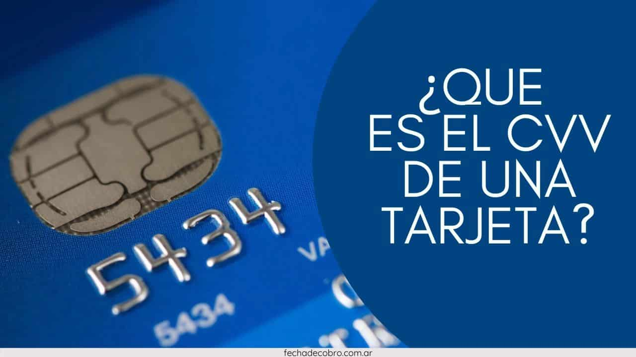 tarjeta de credito CVV