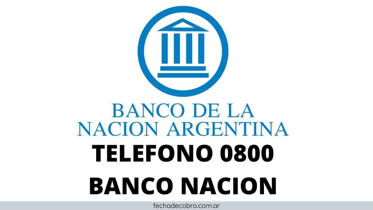 atencion al cliente banco nacion