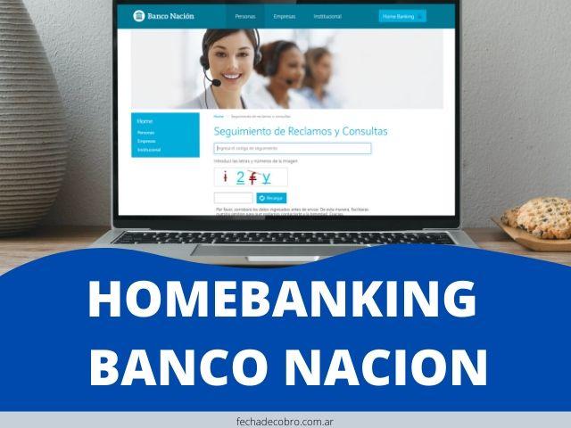 ingresar al Home banking del Banco Nacion