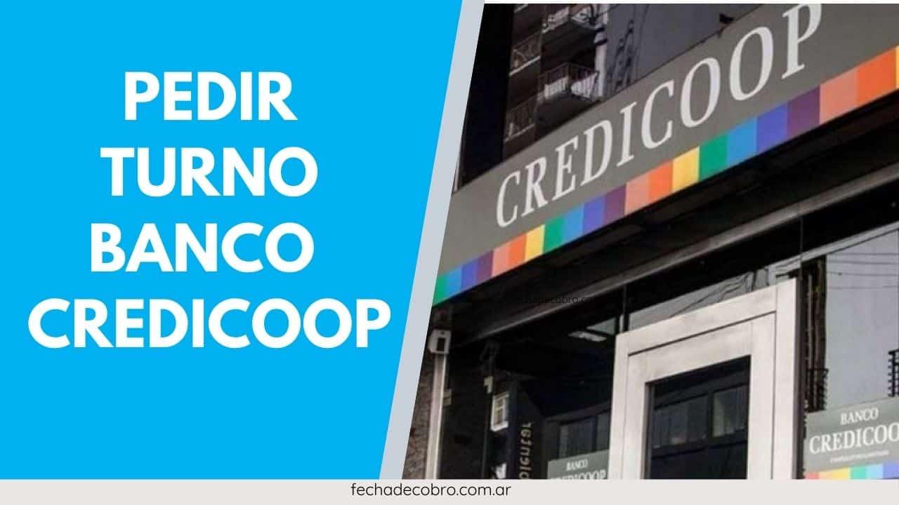como pedir turno banco Credicoop