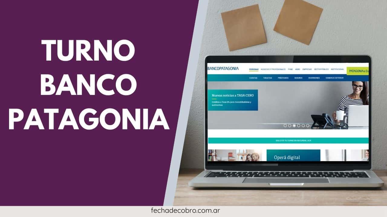 pedir turno banco patagonia