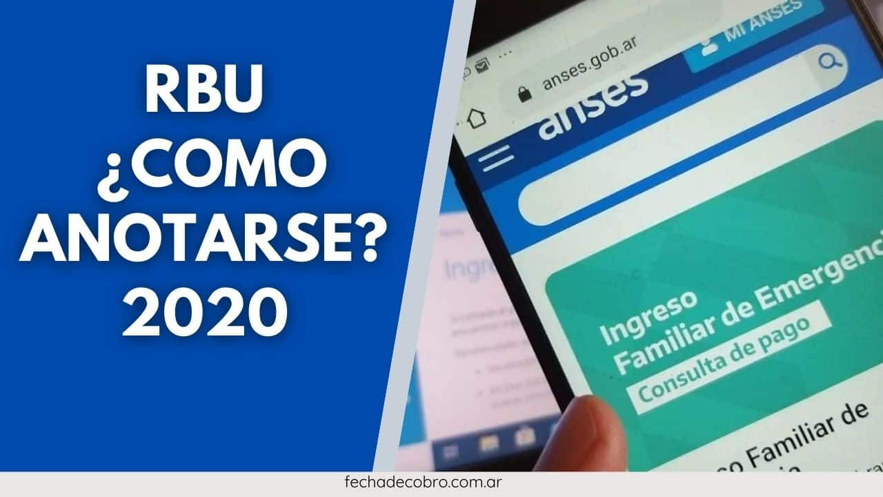 RBU Inscripciones 2020