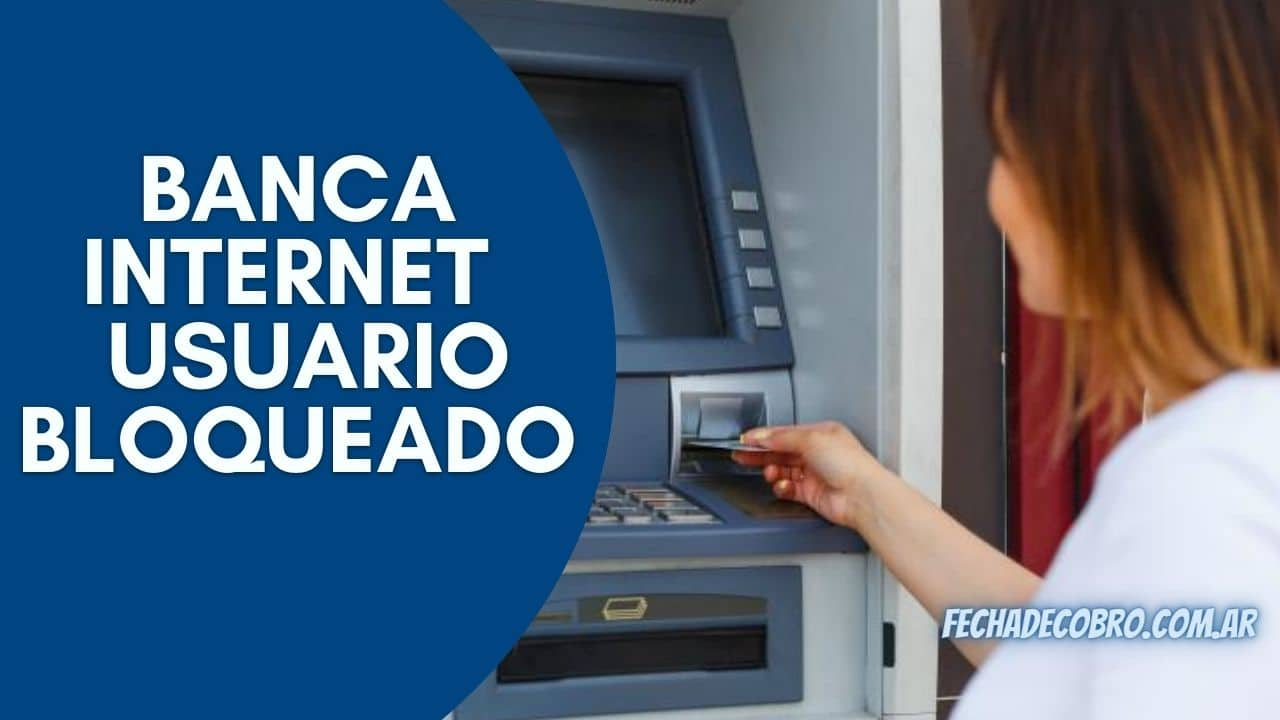 banca internet del banco provincia con usuario bloqueado