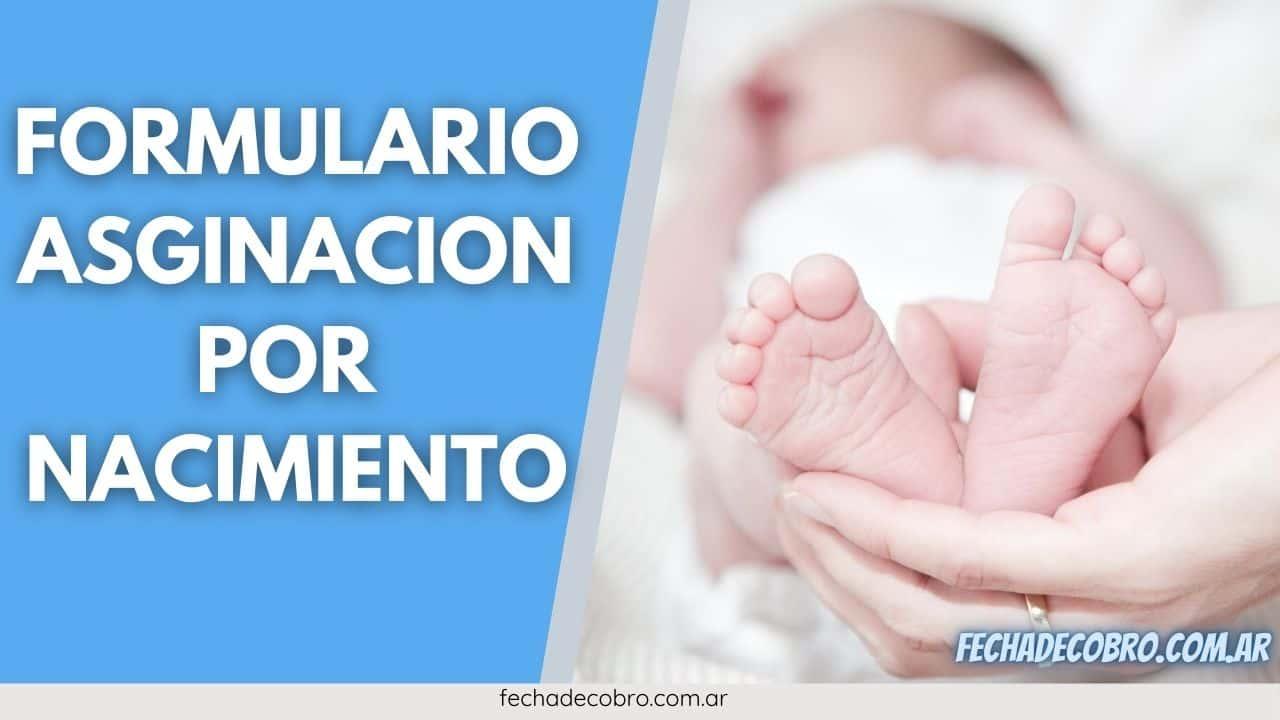 nacimiento formulario descargar