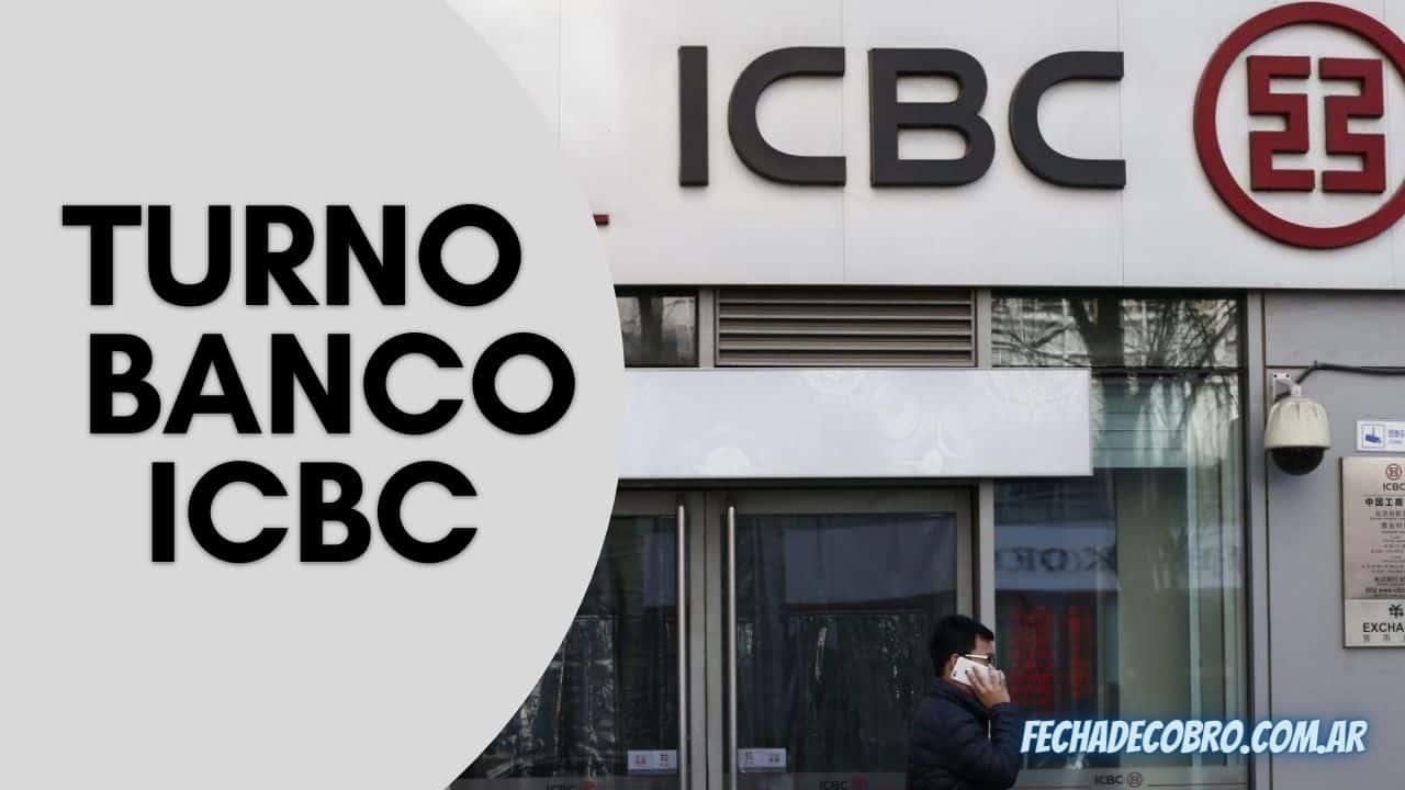 sacar turno en Banco ICBC