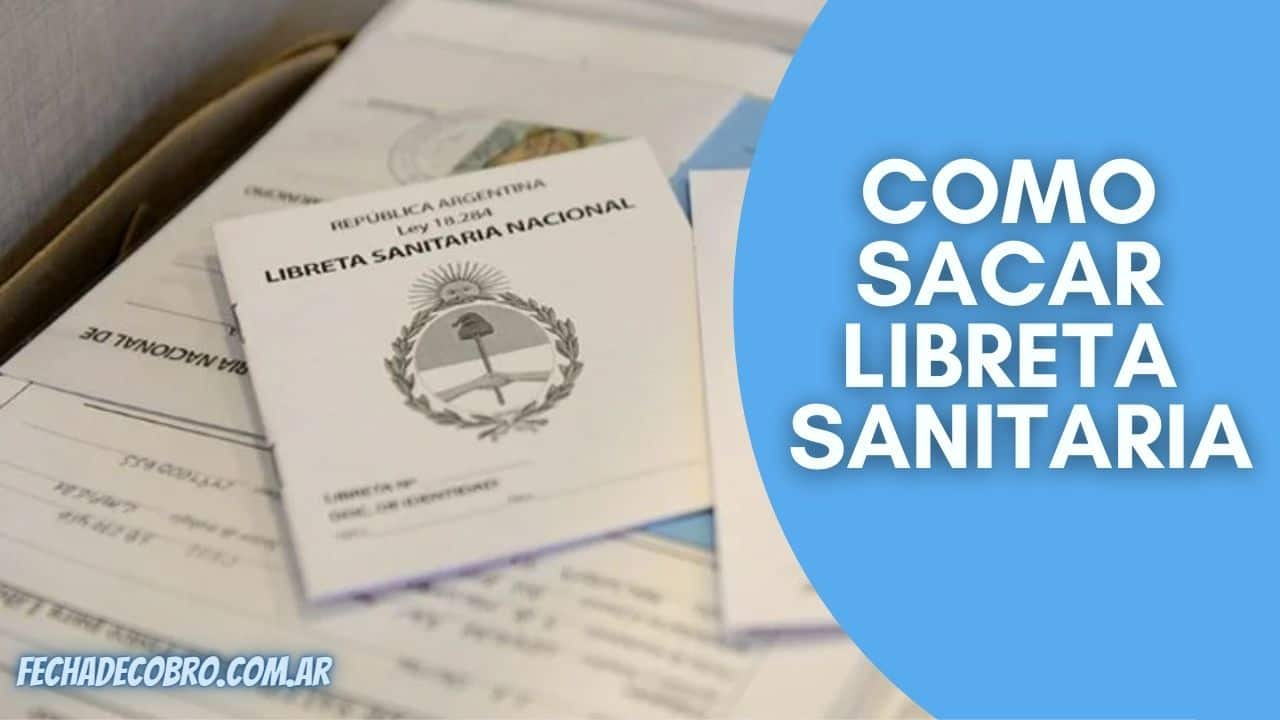 sacar libreta sanitaria requisitos