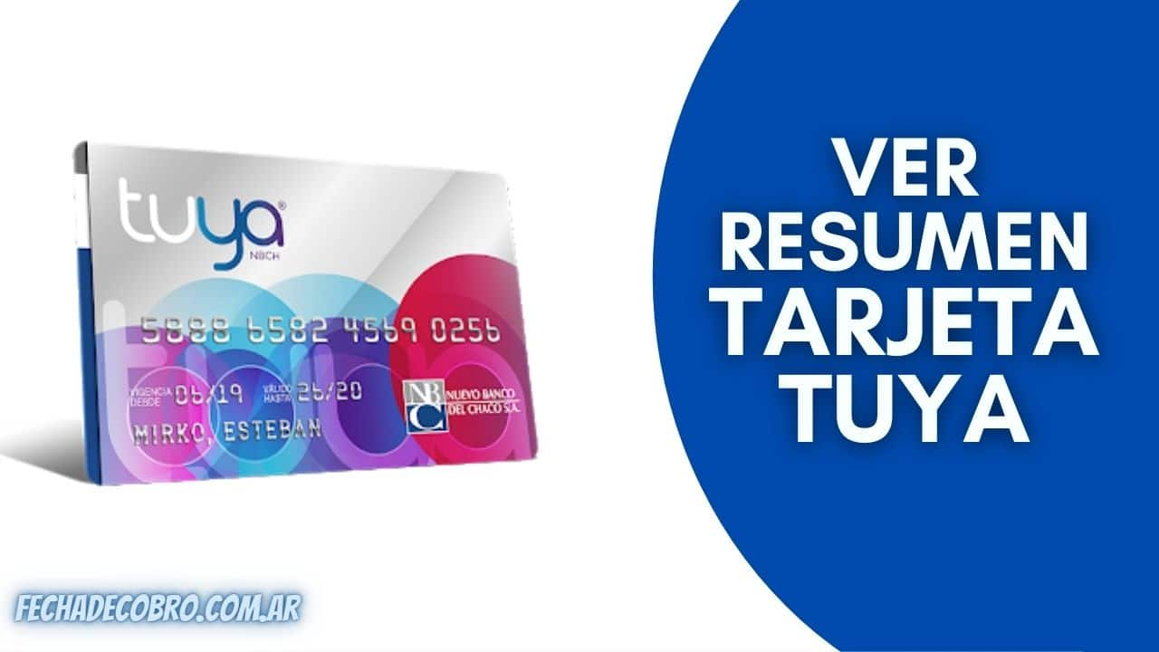 tarjeta de credito tuya resumen