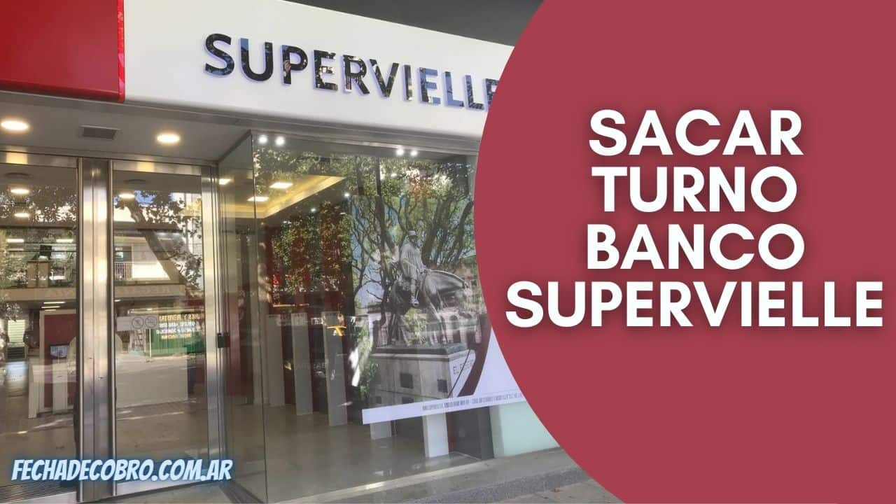 pedir turno Banco Supervielle