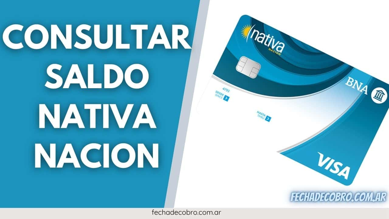 consultar saldo tarjeta nativa nacion