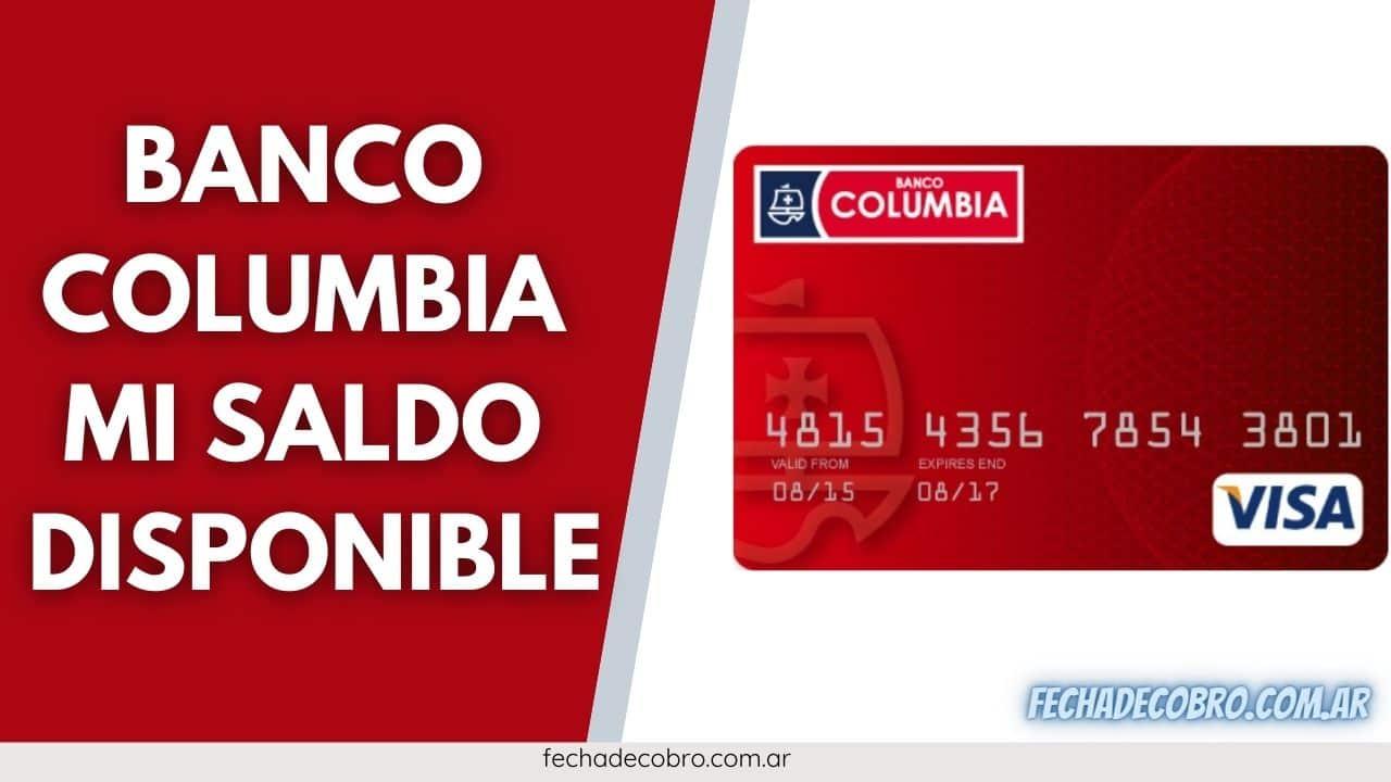 ver saldo banco Columbia