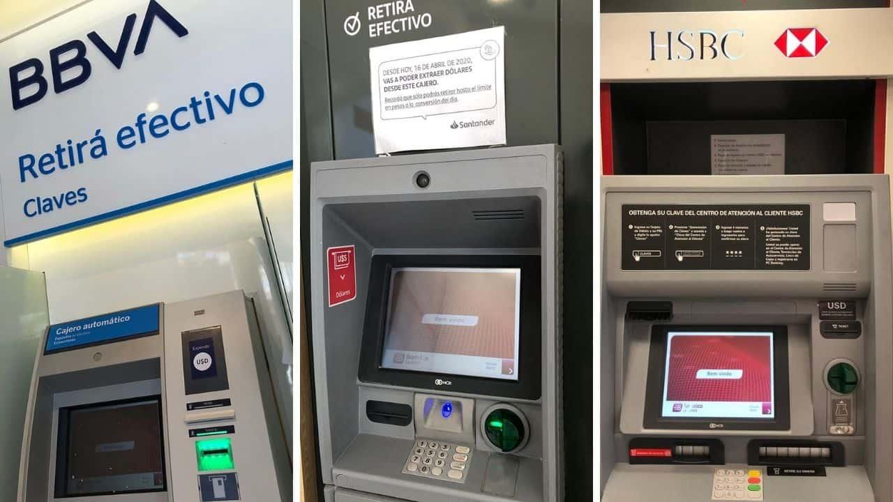 sacar dolares cajero automatico