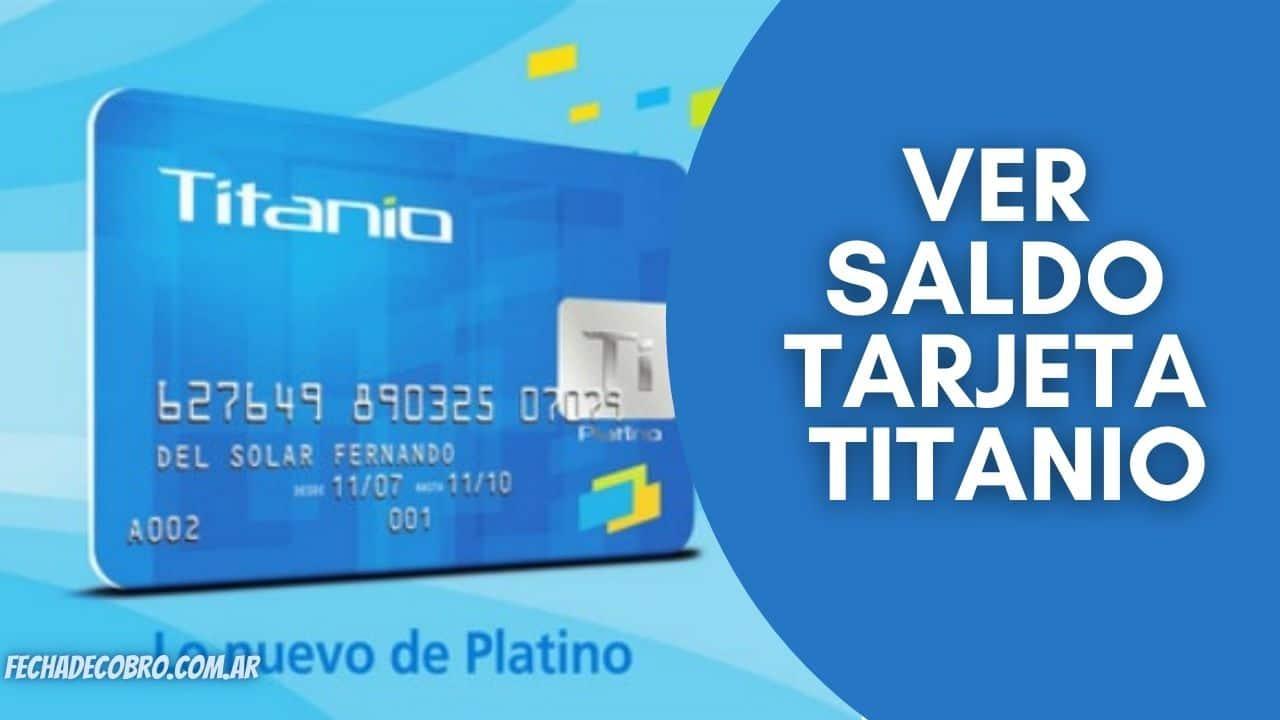 consultar saldo tarjeta titanio