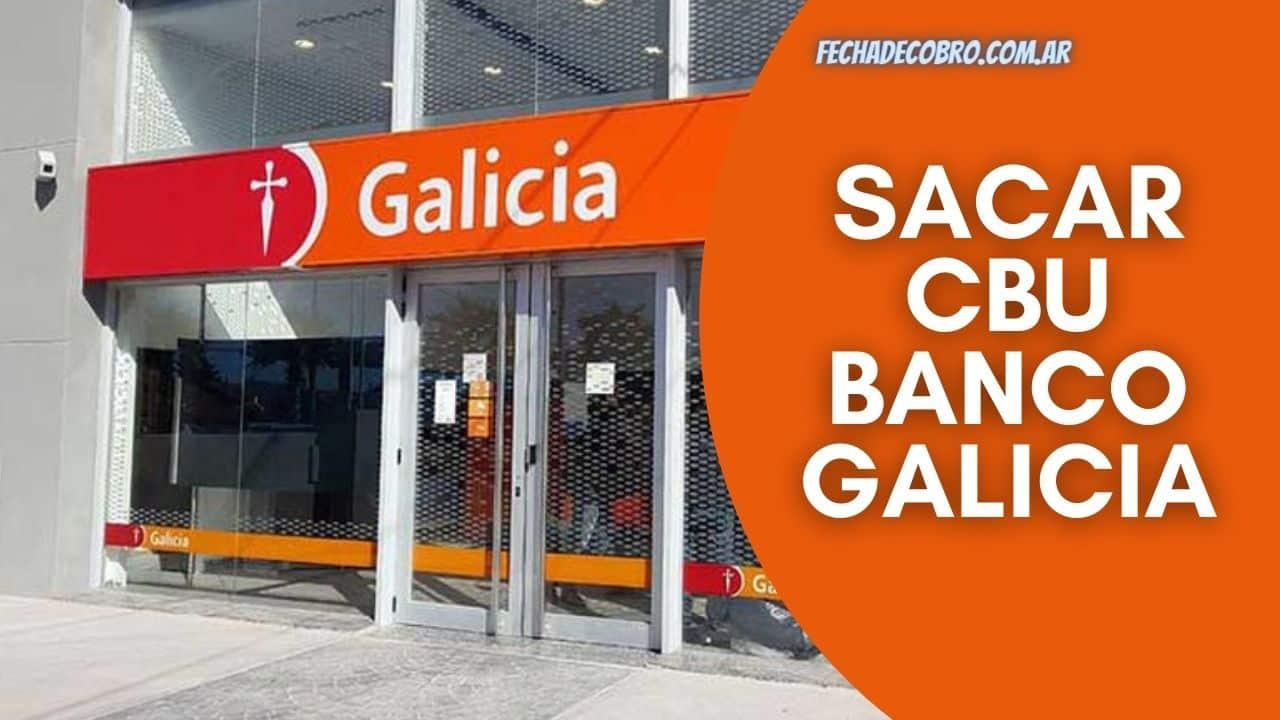 sacar el cbu del banco galicia