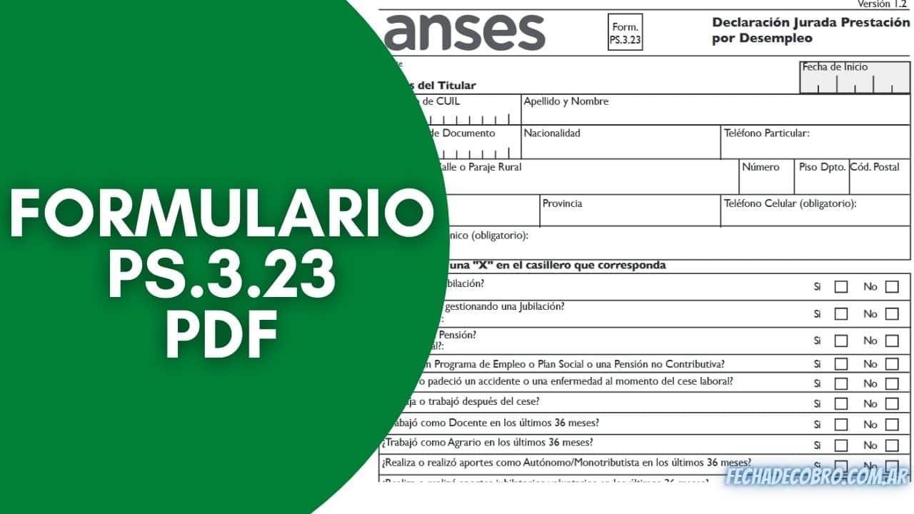 formulario ps.3.23 en PDF