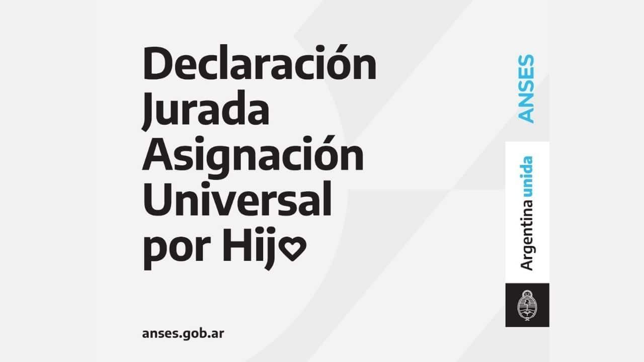 completar Declaracion Jurada para ANSES