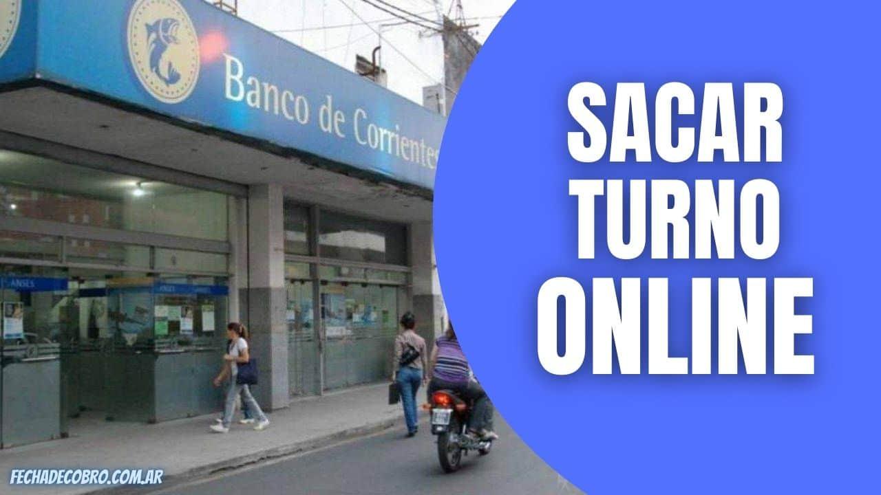 sacar turno en banco corrientes