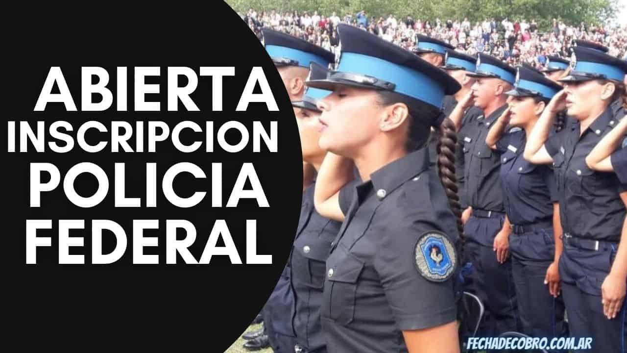 Preinscripcion Policia Federal Argentina