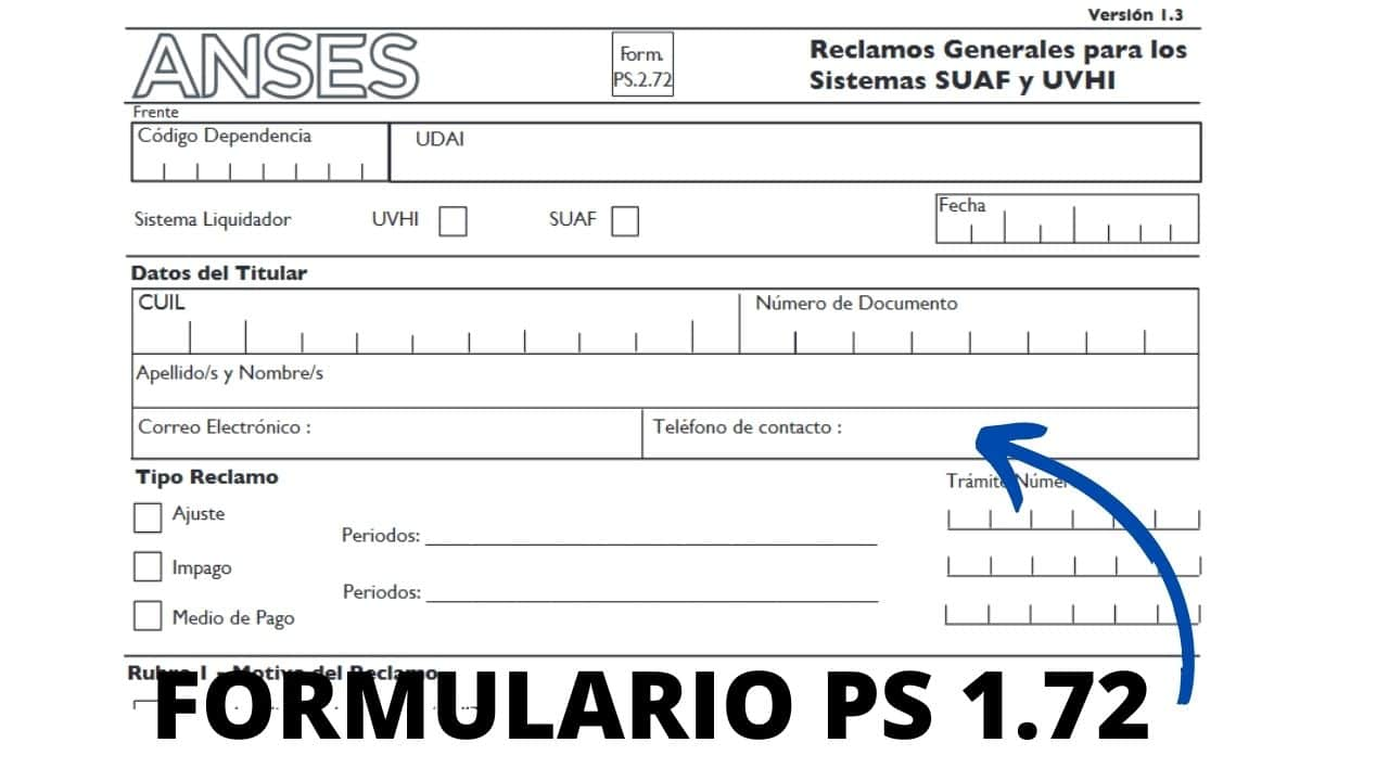 formulario ps 1.72