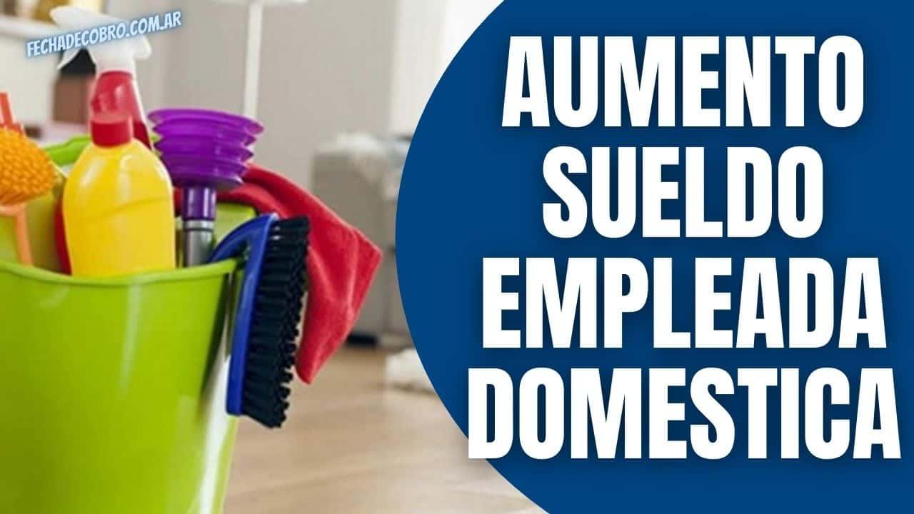 aumento sueldo empleada domestica